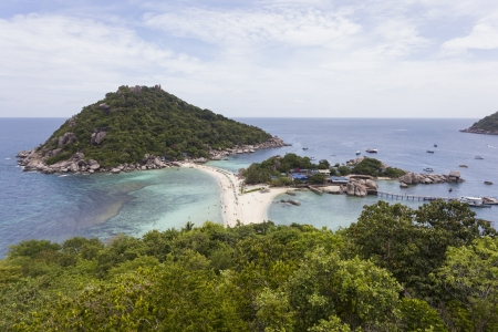 nangyuan: Nangyuan island in Thailand