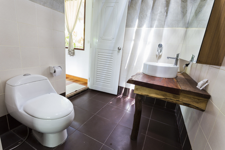 Toilet of Analay resort in Thailand