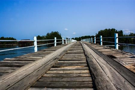 Wooden Bridge Stock Photo - 25123352