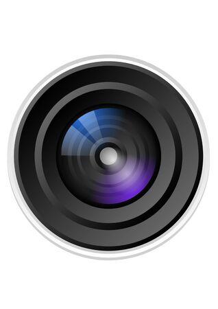 objectif de la caméra Vecteurs