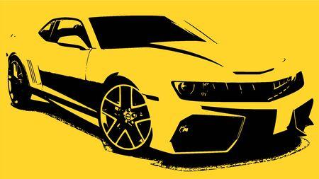 backgroud: Super car