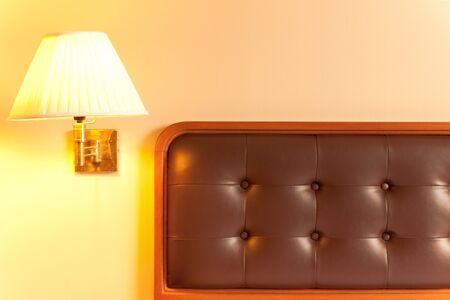 bed and lamp Stock Photo - 7846972