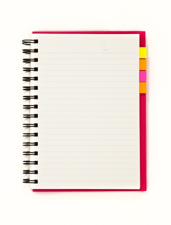 Blank notebook  Stock Photo - 10643369