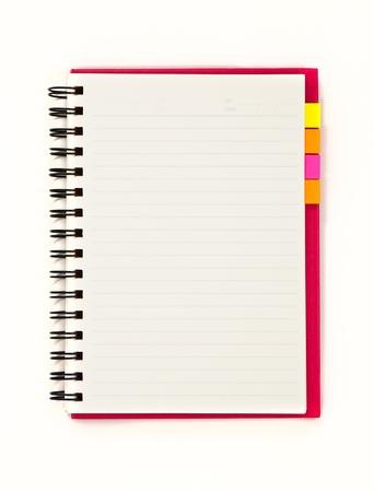 Blank notebook Stock Photo - 10643369