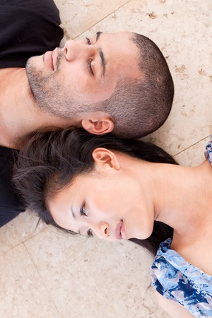 african man and asian woman lover Stock Photo - 10643552