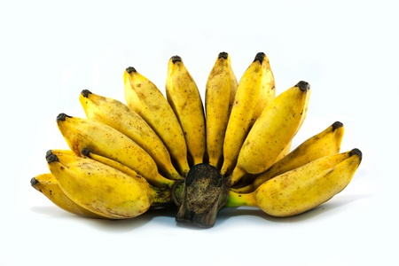 overripe: Bunch of overripe Bananas Stock Photo