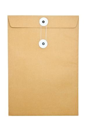 Paper Envelope isolated on white background Stock Photo - 10637365