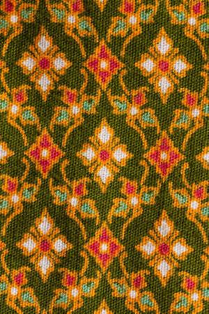 Old style Thai Silk photo