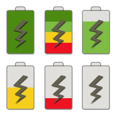 Battery icons  photo