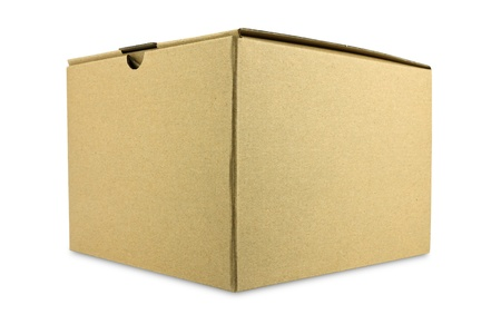 A closed cardboard box Stock Photo - 11884824