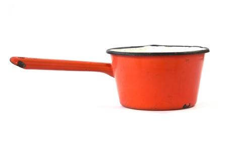 old pot isolated on white background Stock Photo - 12100566