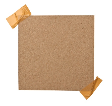 note paper paper on white background photo