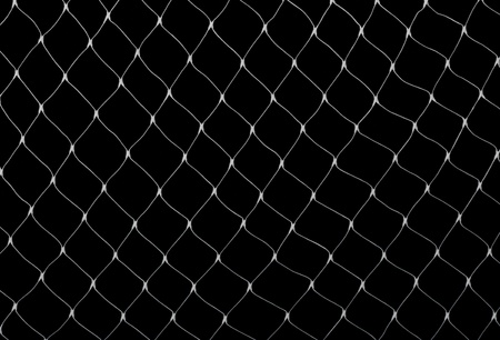 Net on black Stock Photo - 13839046
