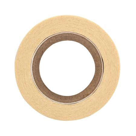 masking: roll of masking tape on white  Stock Photo