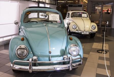 BANGKOK - JUNE 22  Volkswagen Beetle on display at The 36th Bangkok Vintage Car Concours on June 22, 2012 in Bangkok, Thailand  Stock Photo - 14654448