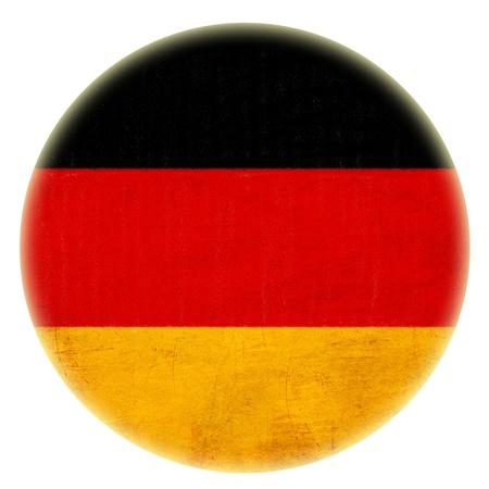 grunge German flag drawing button Stock Photo - 15070674