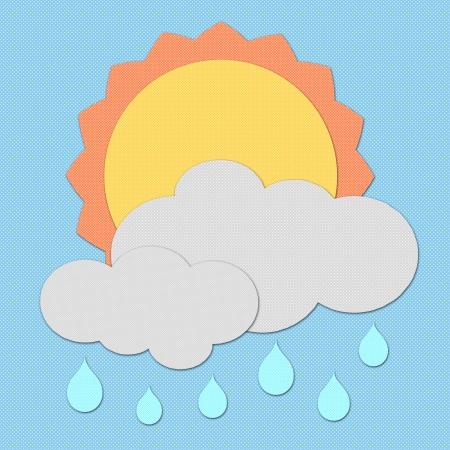 Polka dot Weather set photo