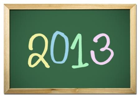 projet: 2013 on blackboard