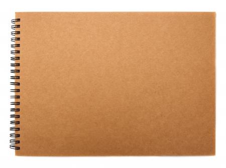 recyclé couverture papier de cahier
