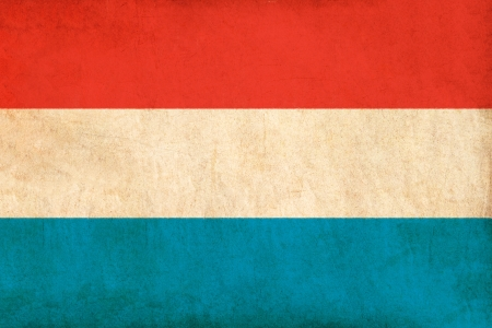 Luxembourg flag drawing ,grunge and retro flag series  photo