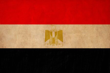 Egypt flag drawing ,grunge and retro flag series Stock Photo - 15938819