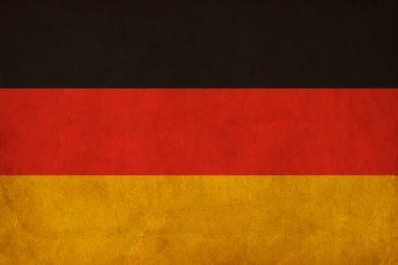 German flag drawing ,grunge and retro flag series  photo