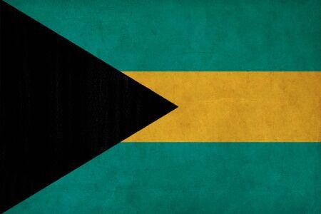 bahamas celebration: Bahamas flag drawing ,grunge and retro flag series