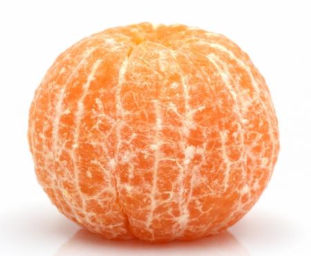 Mandarine ou tangerine fruit isol?