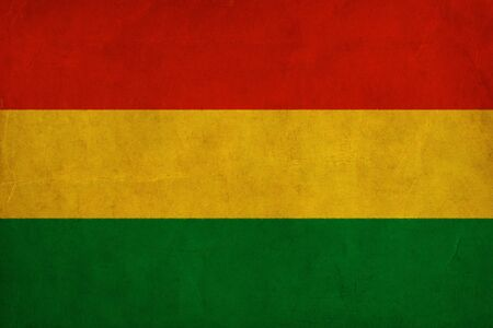 Bolivia flag drawing ,grunge and retro flag series photo