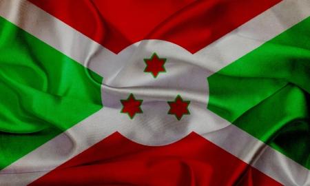 burundi: Burundi grunge waving flag