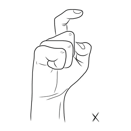 demonstrate: Sign language and the alphabet