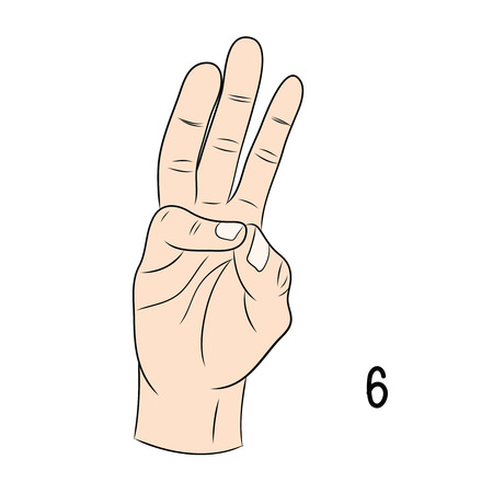 gestural: Sign language and the alphabet,6 Illustration