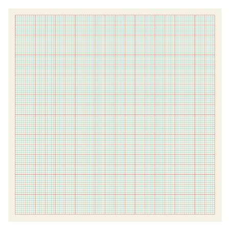 Graph paper background Illustration