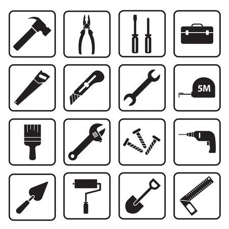 tool icon 向量圖像