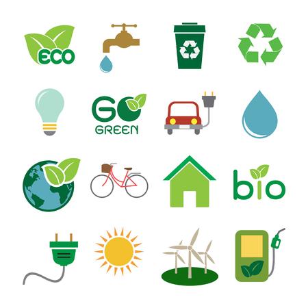 Ecology icon Ilustracja