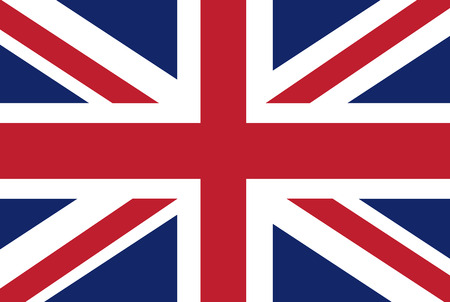 english: Uk flag vector