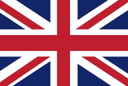 bandiera inglese: Uk vettore di bandiera