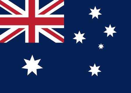 Australie drapeau vecteur Illustration