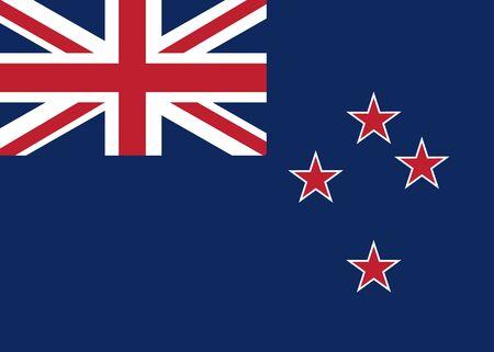 new zealand flag: Bandiera Nuova Zelanda vettore