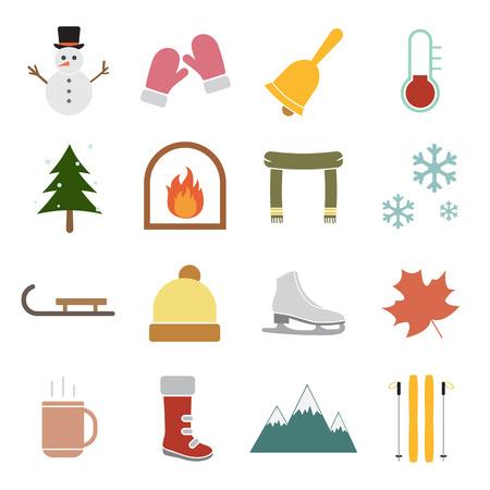 icône d'hiver Illustration