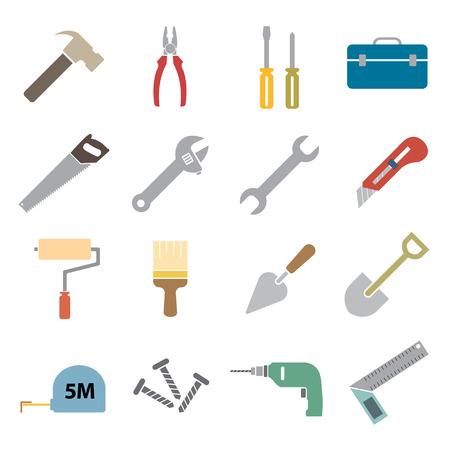 tool icon: tool icon Vettoriali