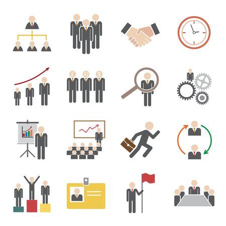 human resource icon Illustration