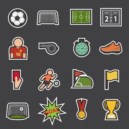 soccer icon: soccer icon Illustration