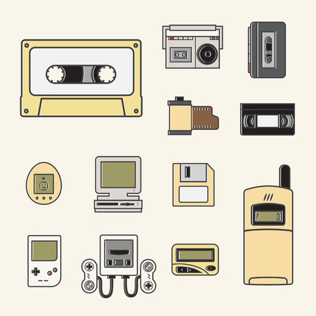 gadget: gadget of 90s  icon