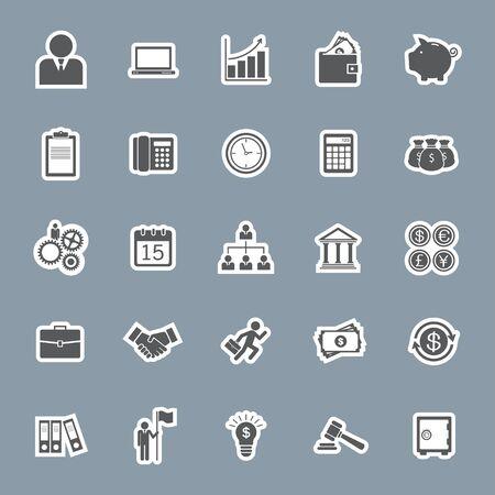 affaires et la finance icône