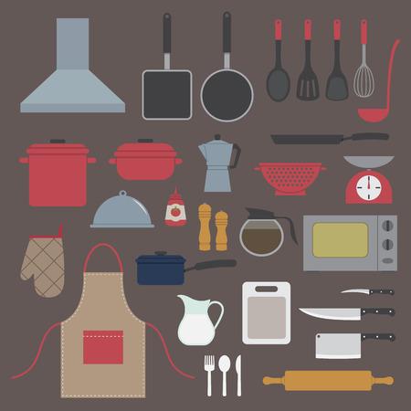 icône de la cuisine Illustration