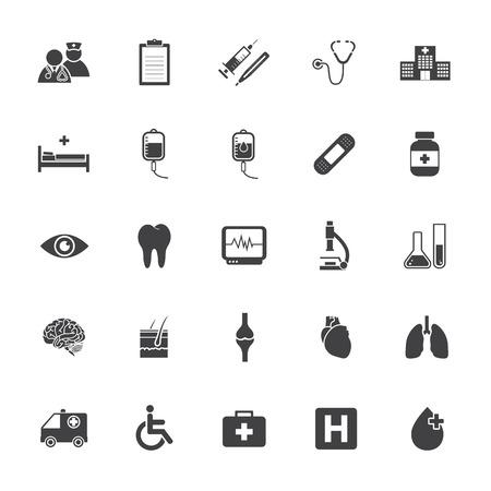 soins de santé et l'icône médicale Illustration