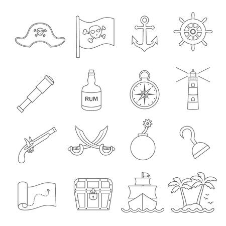 piraten pictogram