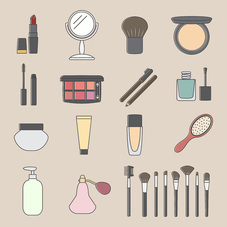 Cosmetic icon.