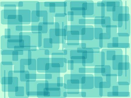 objetos cuadrados: azul objetos cuadrados se superponen entre s�